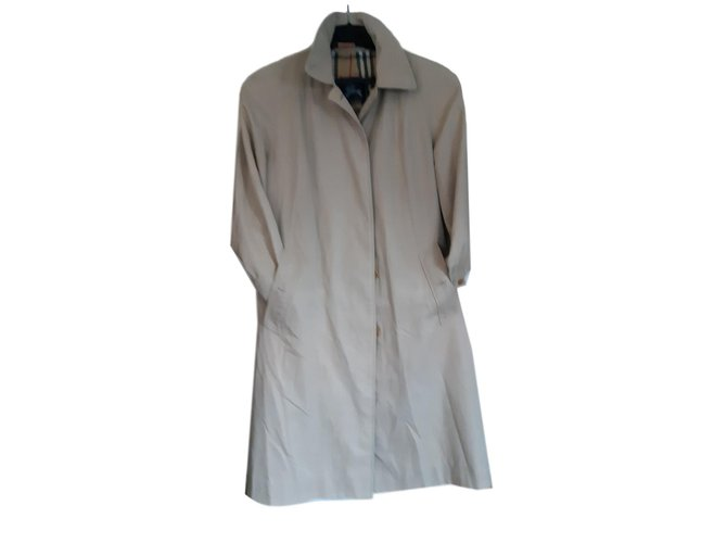Burberry beige cotton trench Trench coats Cotton Beige ref.85664