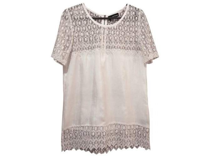 6db09822bc The Kooples Tops Tops Silk White ref.85668 - Joli Closet