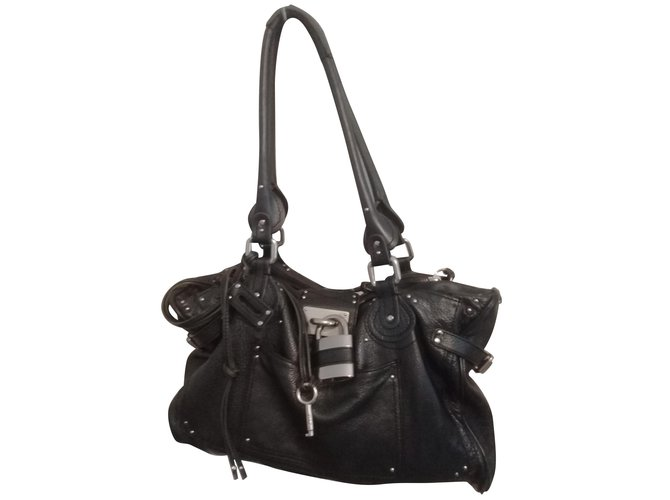 Chloé Handbags Handbags Leather Black ref.85773