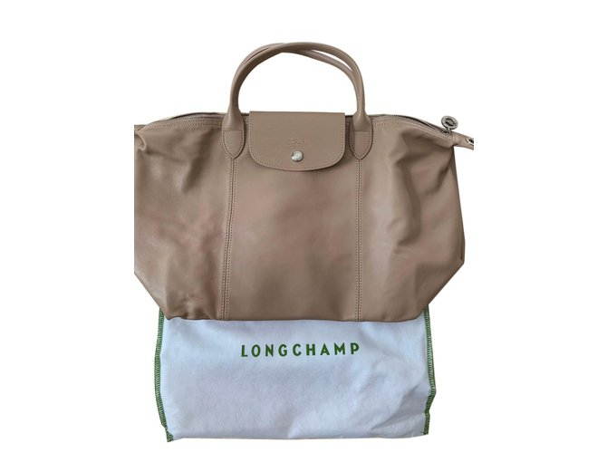 Sac Le À Cuir Autre Main Mm Ref Longchamp 85776 Sacs Pliage awSWS