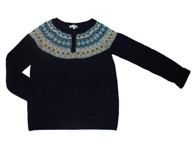 Jacadi Sweaters Sweaters Wool Navy blue ref.85790