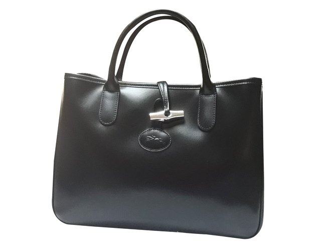 85813 in Armadio Reed pelle Joli Handbags Longchamp Ref nera wAZRHpxq