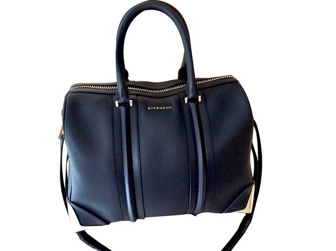Joli Lucrezia À Main Ref 85891 Sacs Closet Givenchy Cuir Noir MVpSUz