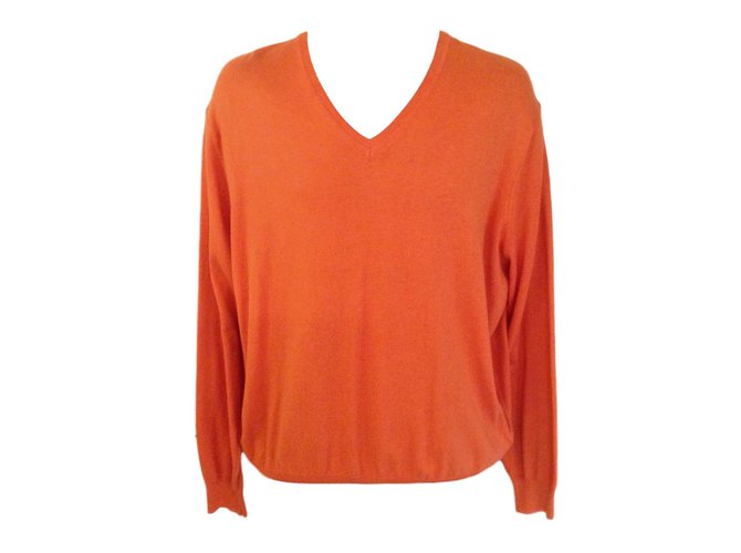 Massimo Dutti Sweaters Sweaters Cottoncashmere Orange Ref86005