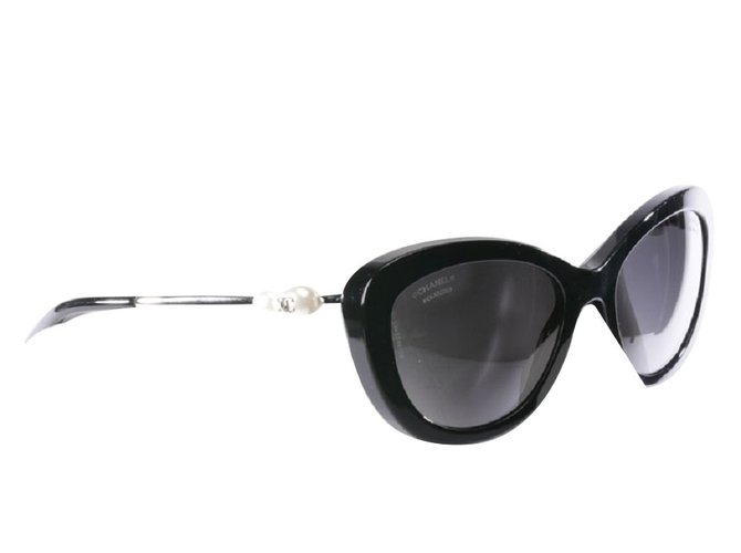43b43fa8b369 Chanel Sunglasses Sunglasses Other Black ref.86068 - Joli Closet