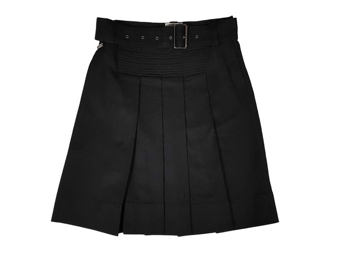 Burberry Skirts Skirts Denim Black ref.86373