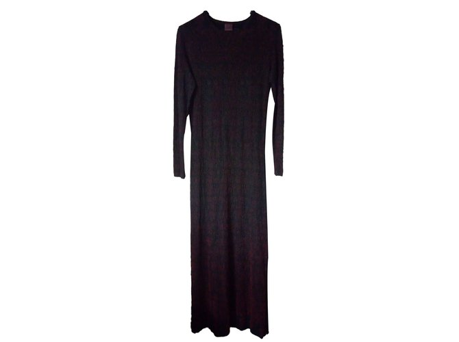 0d48ee14a97 Jean Paul Gaultier Dresses Dresses Cotton Black,Dark red ref.86478 ...