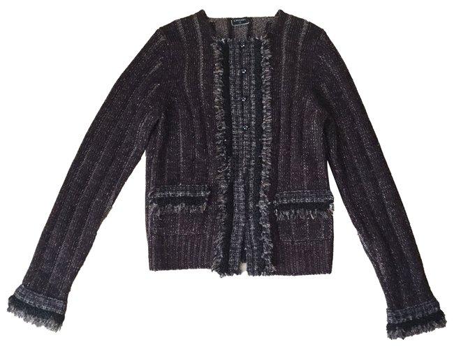 Chanel Jackets Jackets Cashmere Multiple colors ref.115310