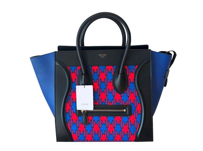 73ec0e5492a0 Céline Luggage bag Handbags Leather Multiple colors ref.87328 - Joli ...