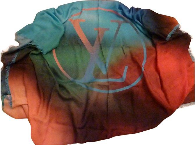 Foulards Louis Vuitton Echarpes Autre Multicolore ref.87462 - Joli ... 86fd540dbce