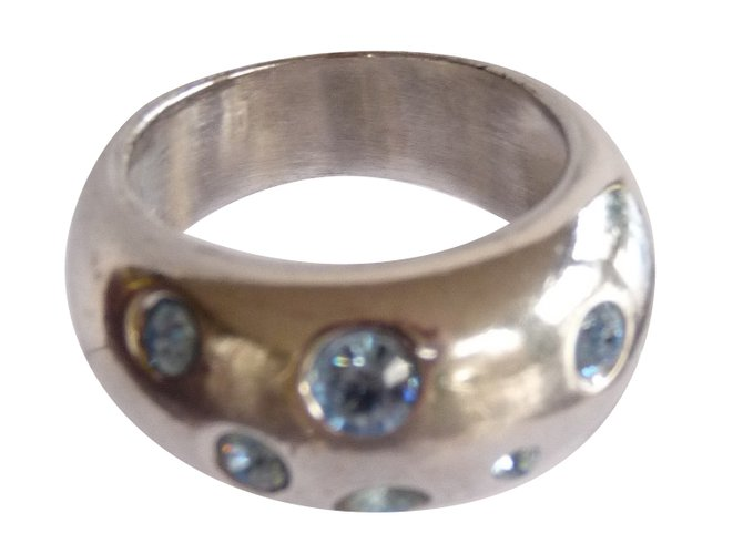 101c85a4914 Yves Saint Laurent rings Rings Silver Silvery ref.87464 - Joli Closet