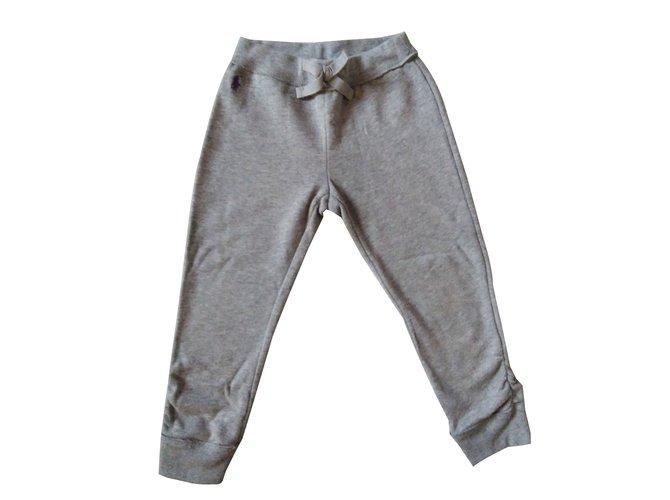 Polo Ralph Lauren Jogging bottoms Pants Cotton Grey ref.87886