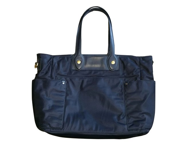 04a4b779f1 Marc by Marc Jacobs Handbags Handbags Cloth Blue ref.88182 - Joli Closet