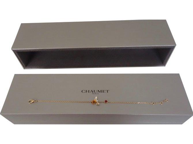Bracelets Chaumet Bracelet attrape-moi... si tu m'aimes Or rose Doré ref.88400