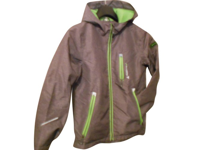 Autre Marque Windbreaker Boy Coats Outerwear Polyester Grey ref.88535