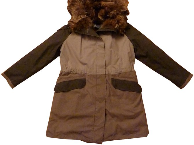 Yves Salomon Army Coats, Outerwear Other Other ref.88681