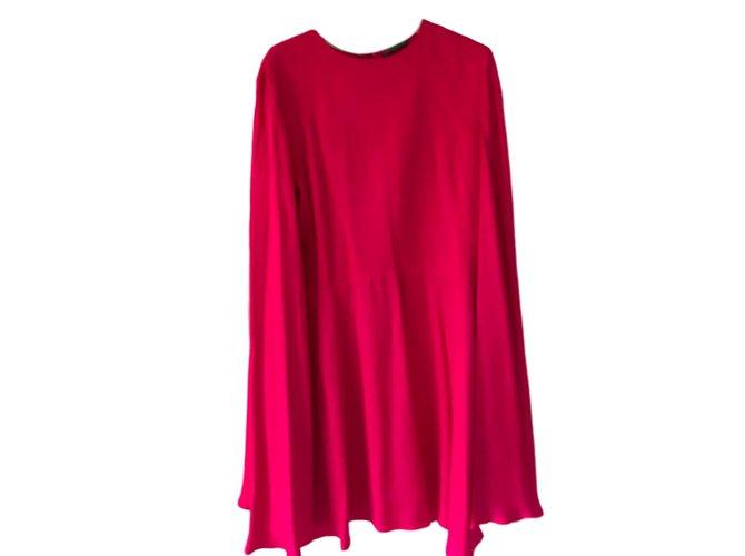 Robes Alexander Mcqueen Robe Soie Fuschia ref.88821 - Joli Closet 6808051dee0