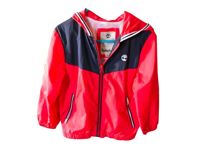 Timberland Boy Coats Outerwear Boy Coats Outerwear Other Red ref.88973