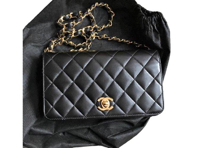 Chanel Vintage Wallet On Chain Handbags
