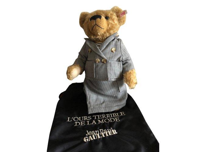 Jean Paul Gaultier Teddy bear Misc Polyamide Beige ref.89036