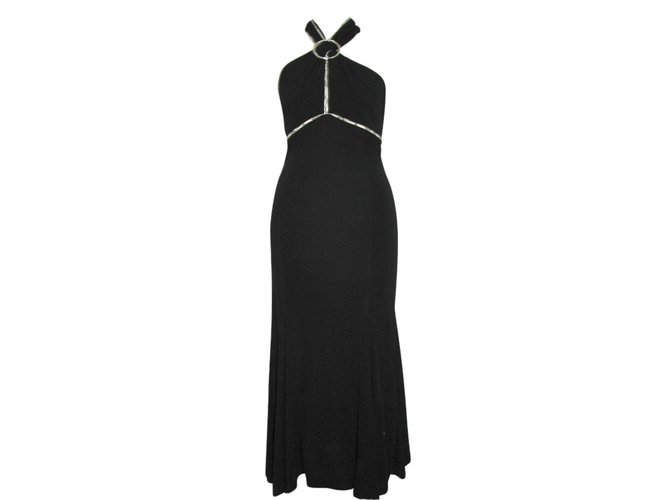 0c320d01cb9 Karen Millen Evening dress Dresses Viscose Black ref.89102 - Joli Closet