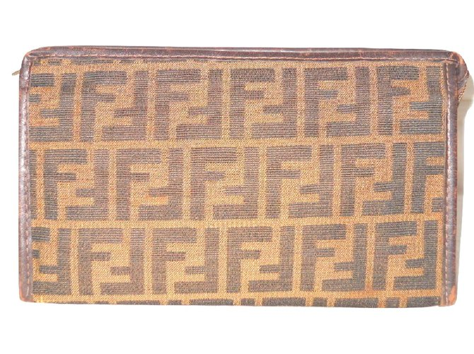 e9772479362c Fendi Vintage toiletry bag Wallets Small accessories Leather