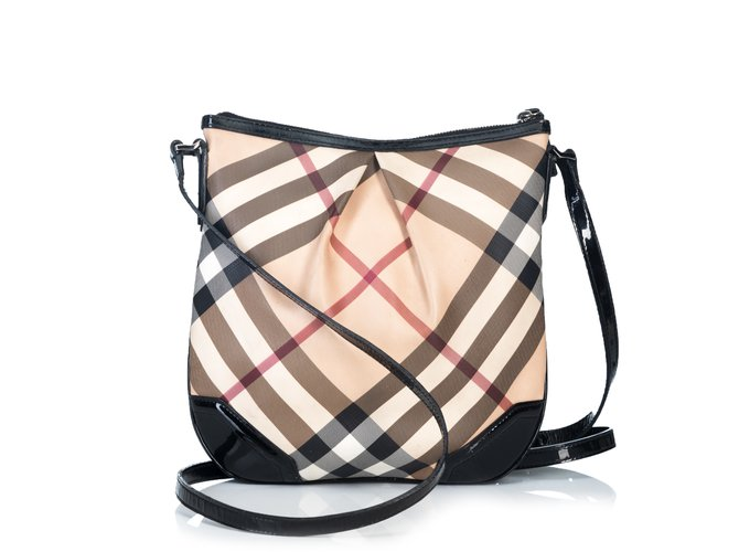278f7088b4fc Burberry Supernova Check Crossbody Bag Handbags Leather
