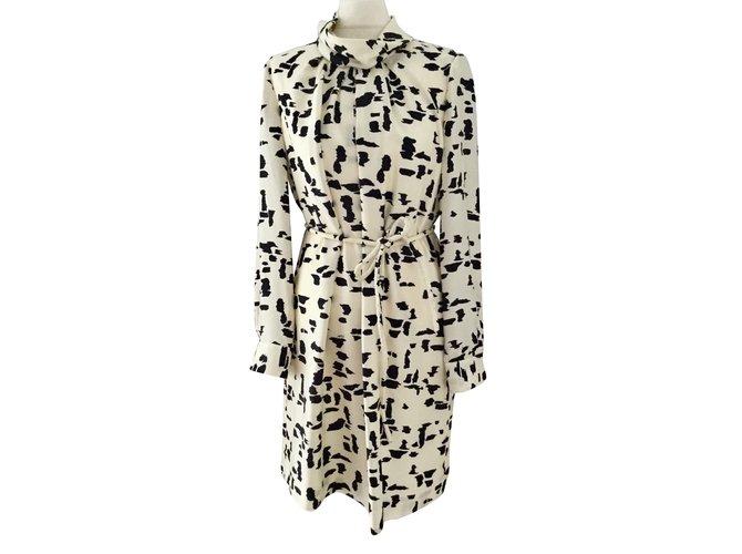Chloé Dresses Dresses Silk Cream ref.89659