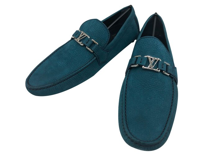 0886fbd107ac Louis Vuitton Louis Vuitton loafers Hockenheim model in azure suede ...