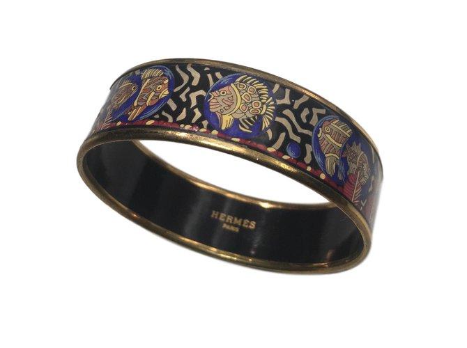 Bracelets Hermès Bracelet émaillé Métal Multicolore ref.90412