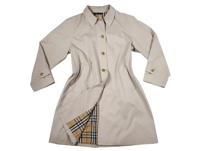 Burberry Coats, Outerwear Coats, Outerwear Cotton Beige ref.90630