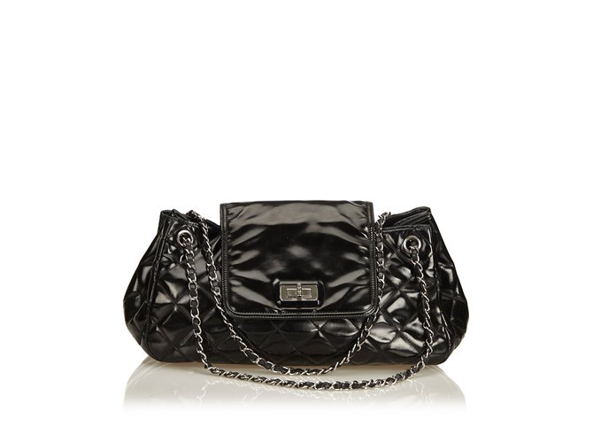 Chanel Patent Leather Reissue Accordion Flap Bag Handbags Leather ... ab4bb2c787662