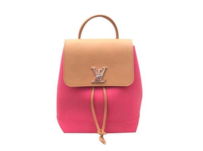 Louis Vuitton Lockme Backpack Backpacks Leather Multiple colors ref.90811 0b4bad30d63f8