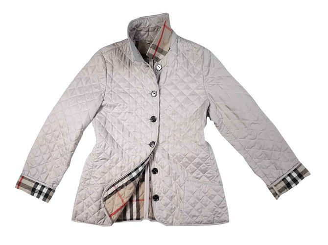 Burberry Jackets Jackets Polyester Beige ref.91142