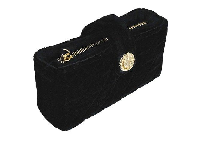 25bd366391c3ca Chanel Timeless models Clutch bags Other Black ref.91284 - Joli Closet
