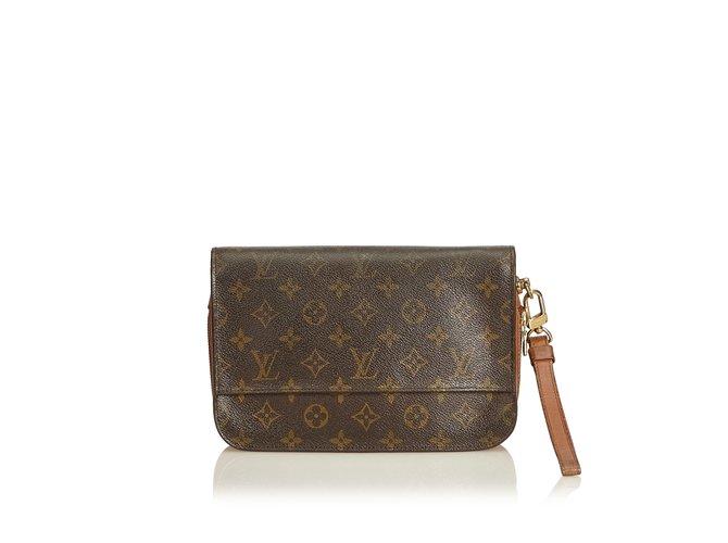 4a8385f5bb2e Louis Vuitton Monogram Orsay Clutch bags Leather