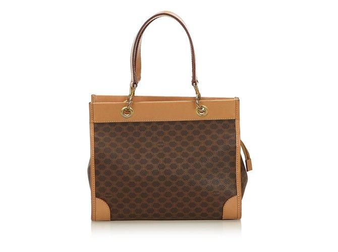 Céline Macadam Shoulder Bag Handbags Leather 621fc55f26b1f
