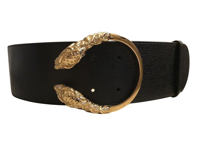 0621e5f8e1ef Gucci Dionysus belt Belts Leather Black ref.91709 - Joli Closet