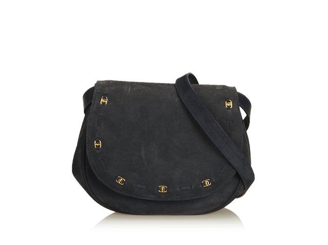 Salvatore Ferragamo Suede Crossbody Bag Handbags Suede 41cc769fe9da1