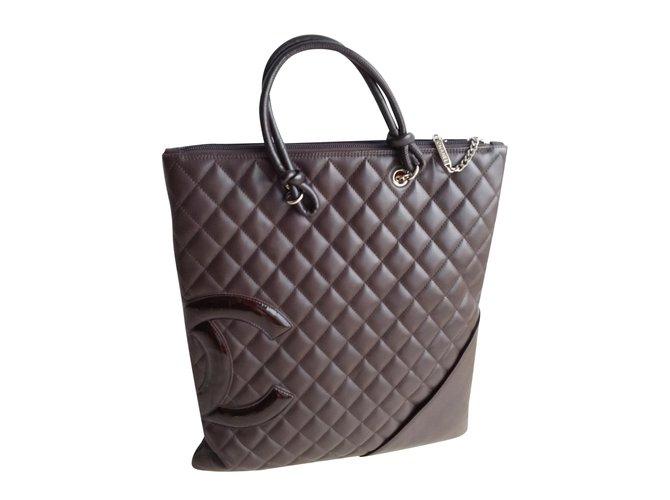 Sacs à main Chanel MODELE CAMBON Cuir Autre ref.91813