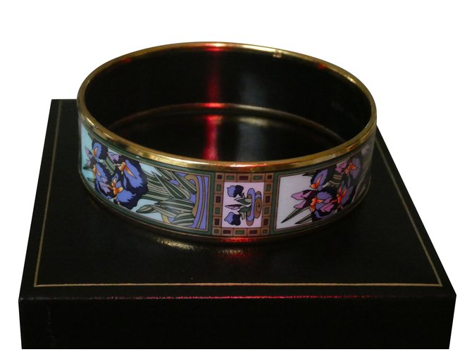 Bracelets Michaela Frey Collection Iris Claude Monet Plaqué or Autre ref.92279