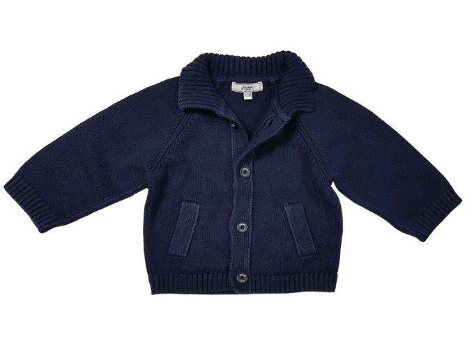 Jacadi Sweaters Sweaters Cotton Navy blue ref.92812