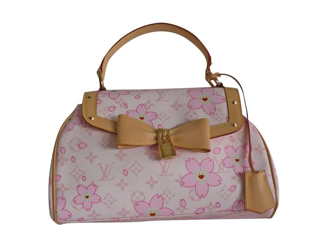 e4bc506f01e0 Louis Vuitton Retro CHerry Blossom Takashi Murakami Handbags Leather ...