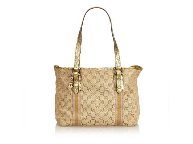 5edba9f8b10 Gucci Guccissima Jolicoeur Tote Totes Leather