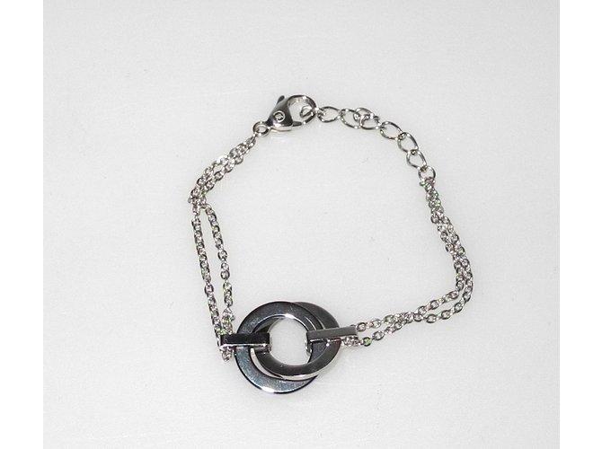 8bc4c6253c Cerruti 1881 Bracelets Bracelets Steel Black,Silvery ref.93201 ...