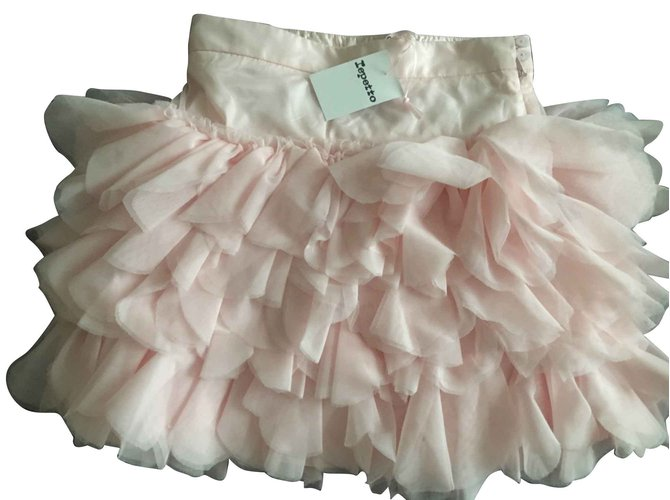 Jupes fille Repetto Jupes Polyester Rose ref.93381