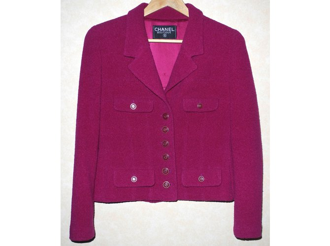 Chanel Jackets Jackets Wool Other ref.93613