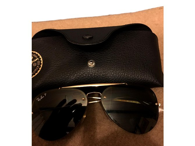 ray ban aviator noire homme