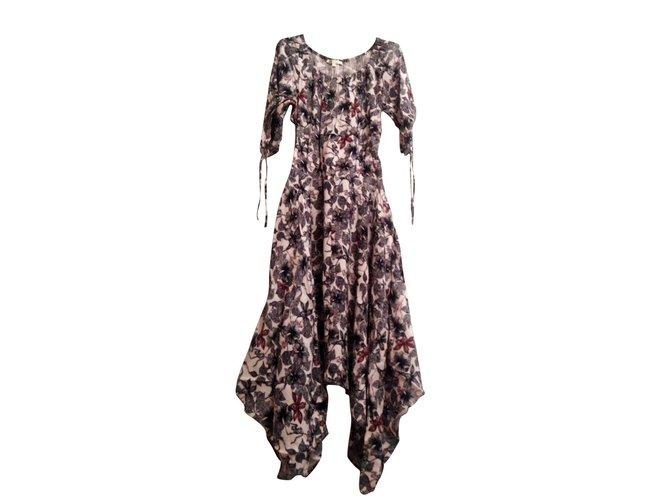 f0a01dcebc47 Maje RIMBA Dresses Viscose Multiple colors ref.98577 - Joli Closet