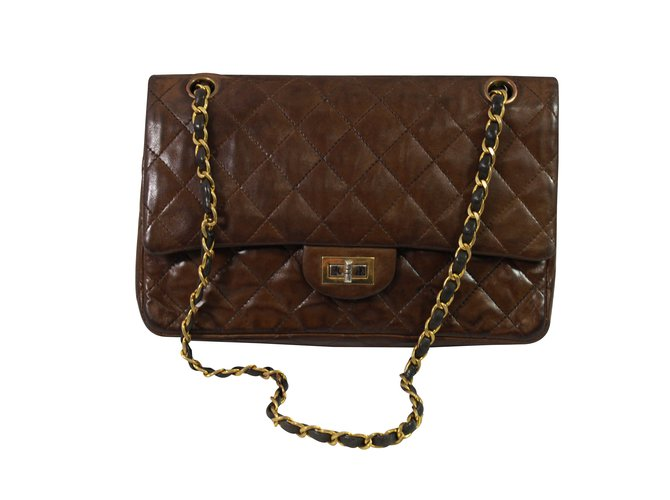 2011f64c4751d2 Chanel Handbags Handbags Leather Brown ref.98683 - Joli Closet